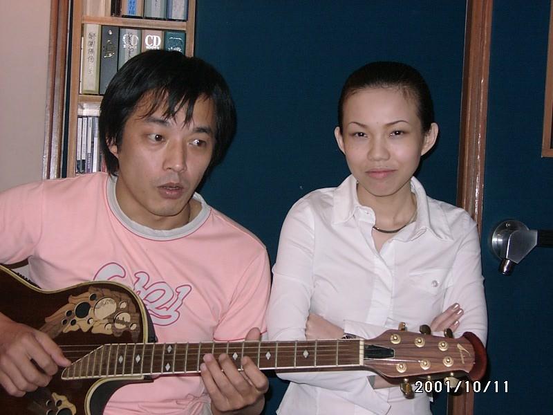 again 周杰倫吉他手&Pub 歌手菲菲-2001錄音