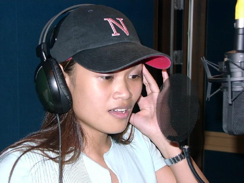 藍色狂想駐唱歌手Carey周莉文-2002錄音