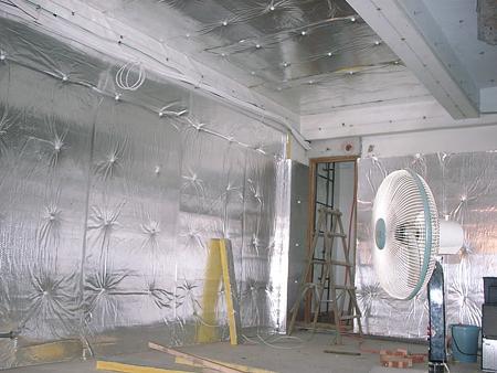 鋁箔棉隔音 防止低頻穿梭