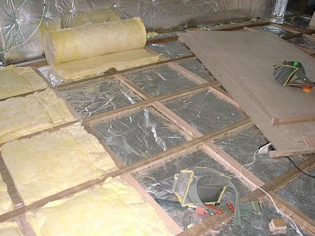 地板處理(三層)